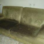 ניקוי ספה לפני